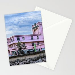 Old Style Waterfront Hotel, Montevideo, Uruguay Stationery Cards