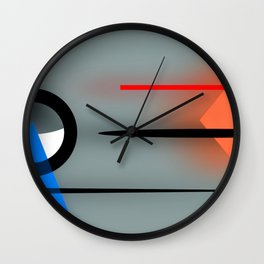 Soft meets hard ... Wall Clock