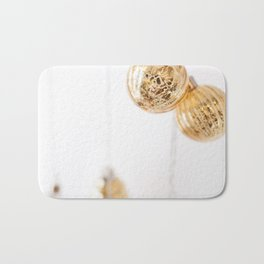 Golden Ornaments Bath Mat