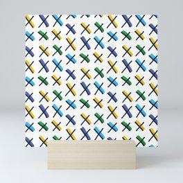 Accent Exes Mini Art Print