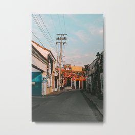 Cartagena Sunrise Metal Print