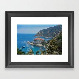Catalina Island Casino Framed Art Print