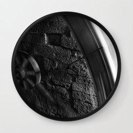 Grist Wheel Wall Clock