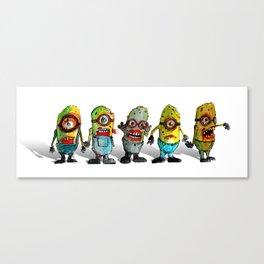 zombie minons Canvas Print