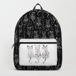 Trio of Cats Backpack