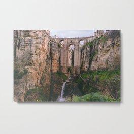 Rhonda bridge Metal Print