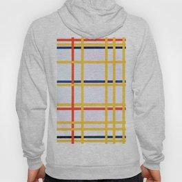 New York City - Piet Mondrian Hoody