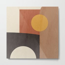 geometric abstract 41 Metal Print