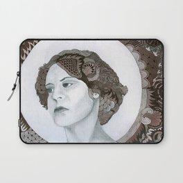 Haloed Lady For Sale!!! Laptop Sleeve