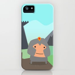 Shining Knights - The Warrior iPhone Case