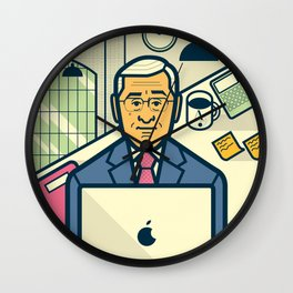 The intern Wall Clock
