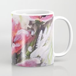 Berry Pink Flowers Coffee Mug