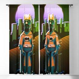 Snoop dogg bat retro Blackout Curtain