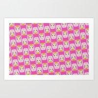 jem Art Prints featuring jem by guizmo04