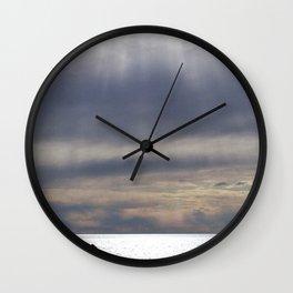 Raining Sunlight Wall Clock