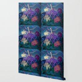 Moonlight dances Wallpaper