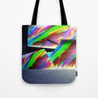 graffiti Tote Bags featuring Graffiti by MehrFarbeimLeben