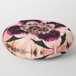 Eye of the Flower Floor Pillow