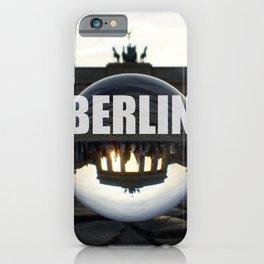 Brandenburg Gate sunset, Berlin iPhone Case