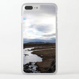 Thingvellir National Park - Iceland Clear iPhone Case