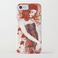 aurora iPhone & iPod Cases featuring Aurora by Minasmoke