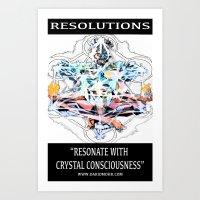 Chakranicity Resolutions 1 Art Print