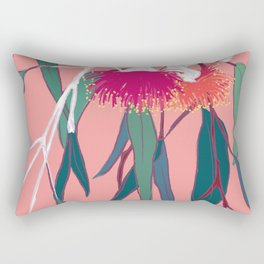 Gumnut Flower Poster Rectangular Pillow