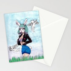 b a d Stationery Cards