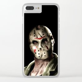 Jason Friday the 13th Clear iPhone Case