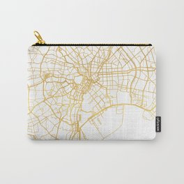 TOKYO JAPAN CITY STREET MAP ART Carry-All Pouch