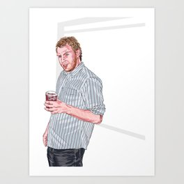 six cran and vodkas in Art Print