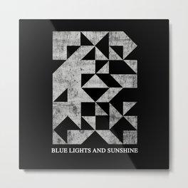 Blue lights and sunshine Metal Print