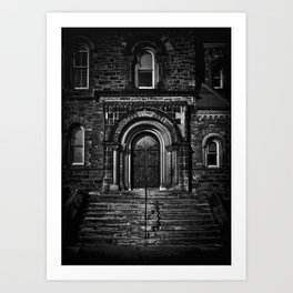 University College East Entrance Toronto Canada Art Print