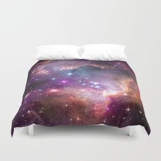 Under the Wing of the Small Magellanic Cloud Duvet Cover