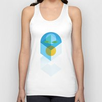 transformer Tank Tops featuring Transformer by Fat Pony