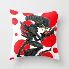URBNPOP Aliens Attack Throw Pillow