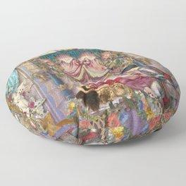 Sleeping Beauty Floor Pillow