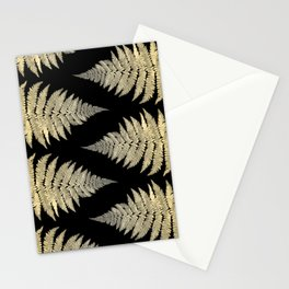 Golden Fern Art | Plant | Photography | Digital Art Stationery Cards