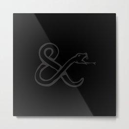 Ampersandman Metal Print