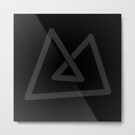 M like M Metal Print