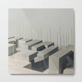 A Concrete Study Metal Print