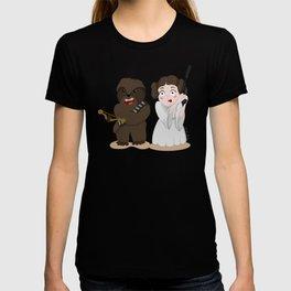 Chewbacca Princess Leia T-shirt