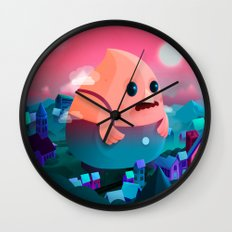 A Stranger in this town Wall Clock