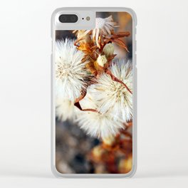 The Mongolian Dandelion Clear iPhone Case