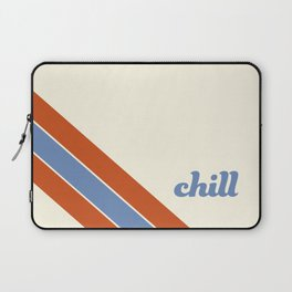 Chill Out Blue Laptop Sleeve