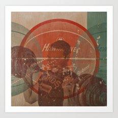 Dumbell Art Print