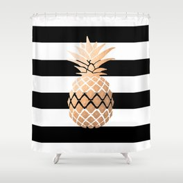 Pineapple Vibes Shower Curtain