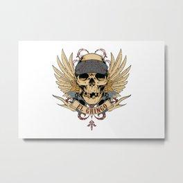 El Gringo Metal Print