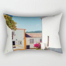 Obidos, Portugal (RR 177) Analog 6x6 odak Ektar 100 Rectangular Pillow