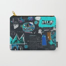 Basquiat Night Carry-All Pouch